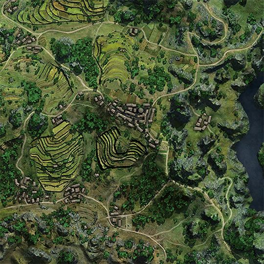 Dragon Ridge Map