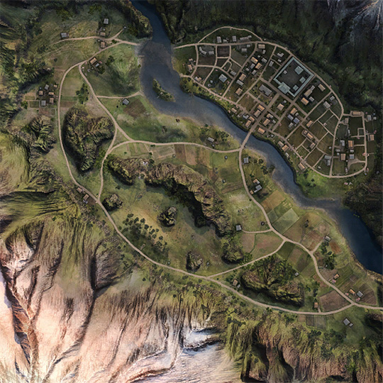 Hidden Village Map