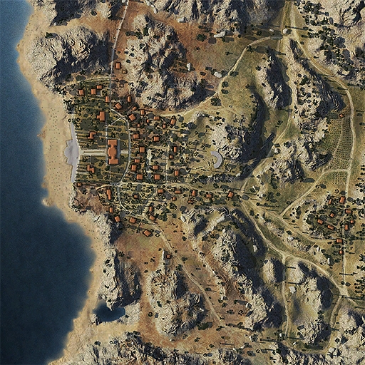 South Coast Map